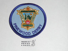95th BSA Anniversary Patch, Pinewood Derby