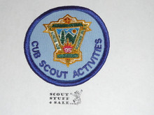 95th BSA Anniversary Patch, Cub Scouts Activities