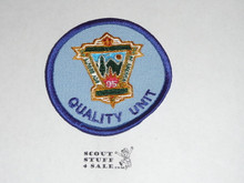 95th BSA Anniversary Patch, Quality Unit, Blue Twill