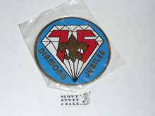 75th BSA Anniversary, Rigid Sticker