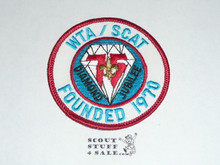 75th BSA Anniversary Patch, WTA/SCAT