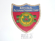 Schiff Scout Reservation, National Junior Leader Training Camp Shield Patch, Used