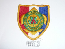 Schiff Scout Reservation, Shield Patch, Sewn