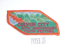 Crescent Bay Area Council, Culver City 50th Anniversary Youth Festival Patch
