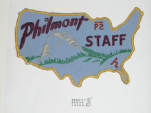 Philmont Scout Ranch, First Philmont Staff Patch, Shaped as USA Outline, Guarenteed Original