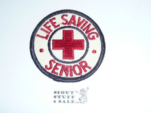 Red Cross Life Saving Senior r/e Patch
