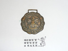 First Class Scout Watch Fob, Silver, Fob Only