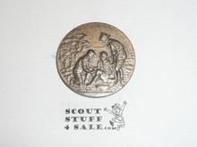 Obscure Boy Scout Coin of First Aid Scene