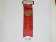 Old Boy Scout Judges Ribbon