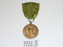 WWII Macarthur Garden Award Medal, Green RIbbon