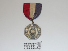Silver Boy Scout Knot Tying Contest Medal