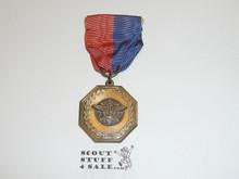Bronze Explorer Scout Contest Medal, CAW Design