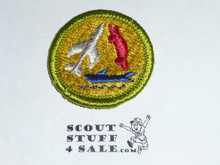 Model Design & Building - Type G - Fully Embroidered Cloth Back Merit Badge (1961-1971)