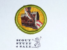 Metallurgy - Type G - Fully Embroidered Cloth Back Merit Badge (1961-1971)