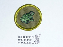 Zoology - Type F - Rolled Edge Twill Merit Badge (1961-1968)