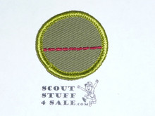Salesmanship - Type F - Rolled Edge Twill Merit Badge (1961-1968)