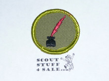 Journalism - Type F - Rolled Edge Twill Merit Badge (1961-1968)