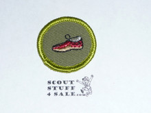 Leatherwork - Type F - Rolled Edge Twill Merit Badge (1961-1968)