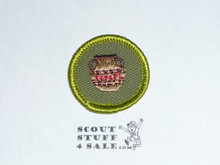 Pottery - Type F - Rolled Edge Twill Merit Badge (1961-1968)