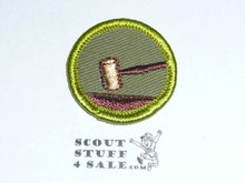 Public Speaking - Type F - Rolled Edge Twill Merit Badge (1961-1968)