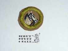 Animal Industry - Type D - Fine Twill Merit Badge (1942-1946)