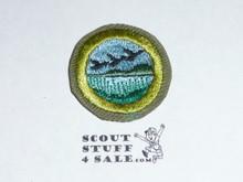 Wildlife Management - Type E - Khaki Crimped Merit Badge (1947-1960)