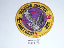 Order of the Arrow Lodge #225 Tamet Iroquois r1 Chapter Patch