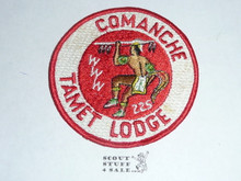 Tamet Order of the Arrow Lodge #225 Comanche r1 Chapter Patch