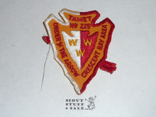 Order of the Arrow Lodge #225 Tamet a1 Arrowhead Patch