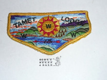 Tamet Order of the Arrow Lodge #225 s5 Flap Patch, used