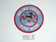Walika Order of the Arrow Lodge #228 1969 Pow Wow Patch