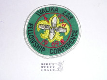 Walika Order of the Arrow Lodge #228 1969 Fellowship Patch
