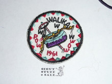 Walika Order of the Arrow Lodge #228 1961 Pow Wow Patch