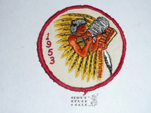 Walika Order of the Arrow Lodge #228 1953 Pow Wow Patch, sewn