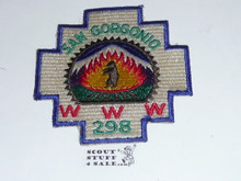 Order of the Arrow Lodge #298 San Gorgonio early Odd Shape Patch