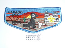 Order of the Arrow Lodge #494 Papago Flap Patch from the Last Ten Years