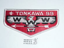 Order of the Arrow Lodge #99 Tonkawa Flap Patch from the Last Ten Years #2