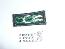 Scoutmaster's / Scouter's Key on Explorer Green, 1967-1983