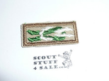 Scoutmaster's / Scouter's Key on tan with khaki bdr, 1983-current