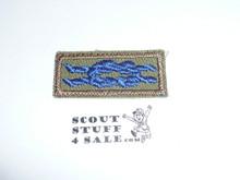 Quartermaster Award Knot on Khaki, 1947-1980