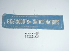 Program Strip - Boy Scouts of United Nations