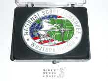 2010 National Jamboree Western Region Belt Buckle
