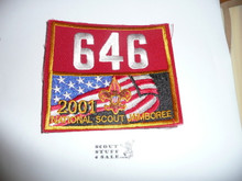 2001 National Jamboree Troop 646 Unit Number, Western Los Angeles County Council Troop