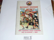 2001 National Jamboree Scout Guide Book