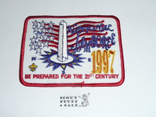 1997 National Jamboree Rectangular Patch