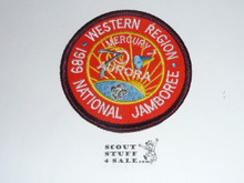 1989 National Jamboree Western Region Subcamp 7 Patch