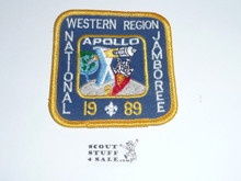 1989 National Jamboree Western Region Subcamp 10 Patch