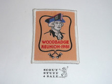 1981 National Jamboree Woodbadge Reunion Patch