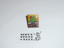 1973 National Jamboree Pin, decal type