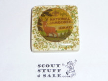 1969 National Jamboree plaster tile with emblem